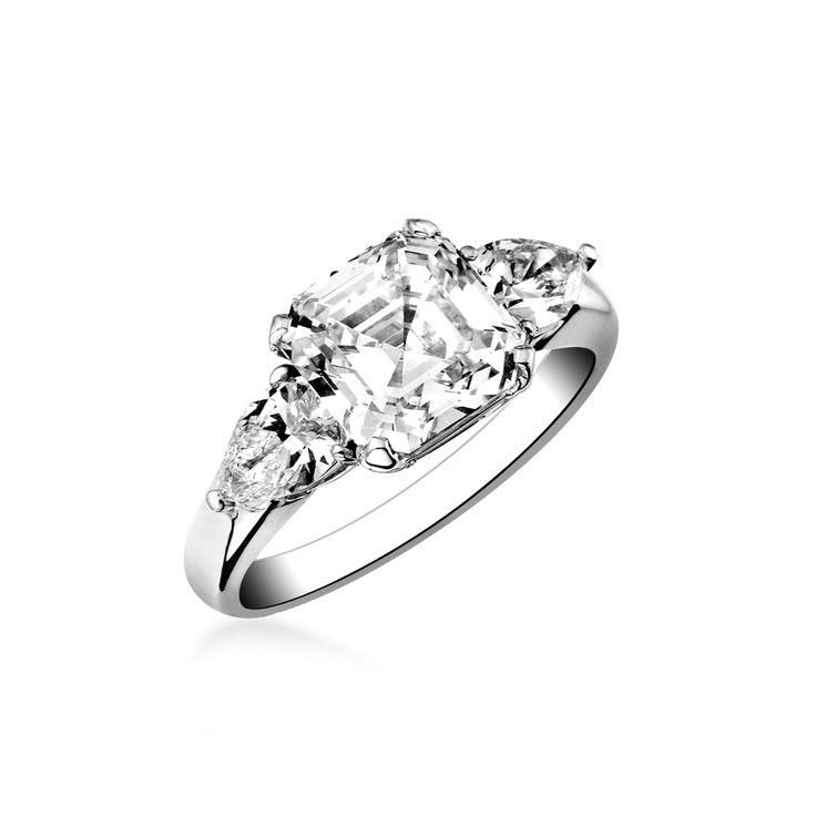 Compagnie des gemmes http://www.compagniedesgemmes.com/solitaire-diamant/diamant-asscher-cut_755.htm