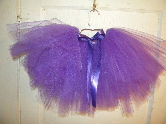 No Sew Tulle skirt tutorial