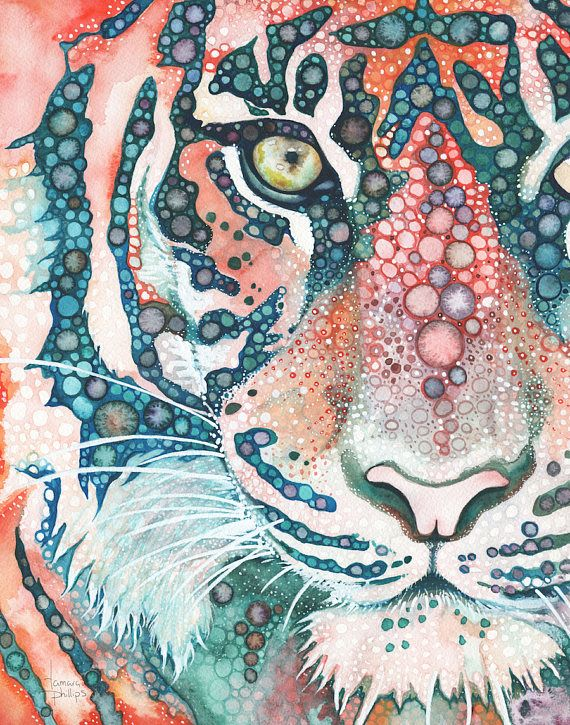 Sumatran Tiger 11 x 14 print, big cat endangered jungle wildlife, endangered species, wildcat environmental earth minded cat lover