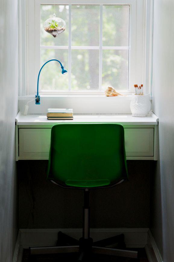 PEINTURE SICO | Un superbe exemple de transformation des petits recoins de la maison. L'optimisation de l'espace à son meilleur!