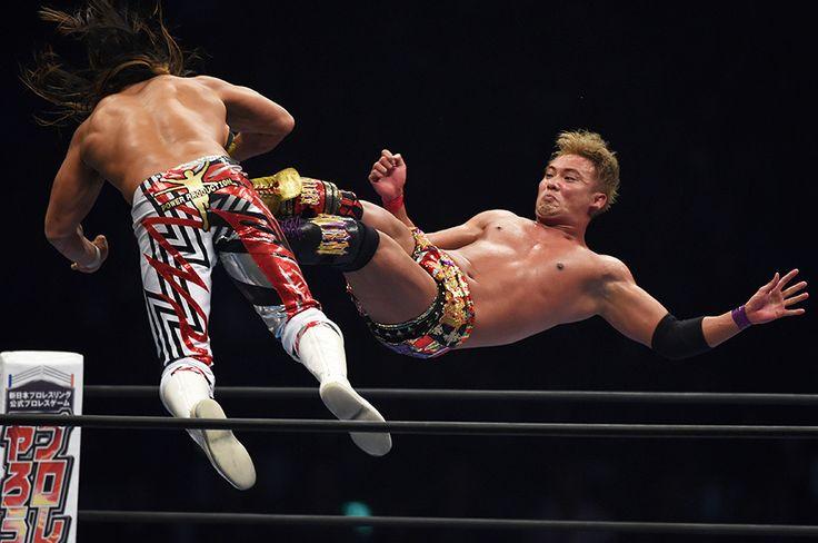 1年前に号泣したオカダが今年は棚橋にリベンジ。その勝因を「俺が新日本プロレスを上にやるんだという気持ち」と語った。