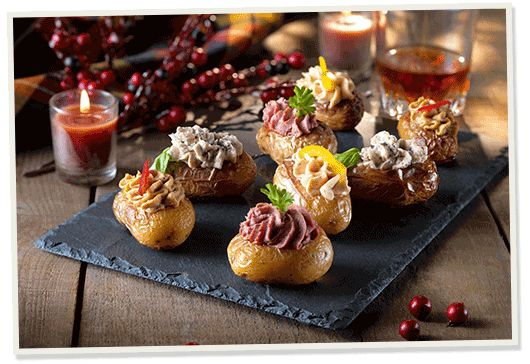 Our Hassleback potatoes recipe is elegant and heavenly, with a quick preparation time, ready for Bonfire Night or a cooked meal in.