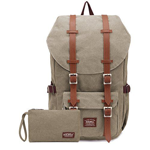 """Kaukko Laptop Outdoor Backpack, Travel Hiking& Camping Rucksack Pack, Casual Large College School Daypack, Shoulder Book Bags Back Fits 15"""" Laptop & Tablets (EP5AApricot[2pcs]). For product & price info go to:  https://all4hiking.com/products/kaukko-laptop-outdoor-backpack-travel-hiking-camping-rucksack-pack-casual-large-college-school-daypack-shoulder-book-bags-back-fits-15-laptop-tablets-ep5aapricot2pcs/"""