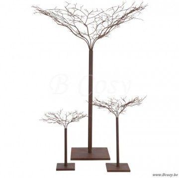 """J-Line Bruine moderne metalen boom in bruin metaal 180h <span style=""""font-size: 0.01pt;"""">Jline-by-Jolipa-62706-boom-sierboom-arbre-deco-arbres-deco-bomen-sierbomen-trees-sierboom</span>"""