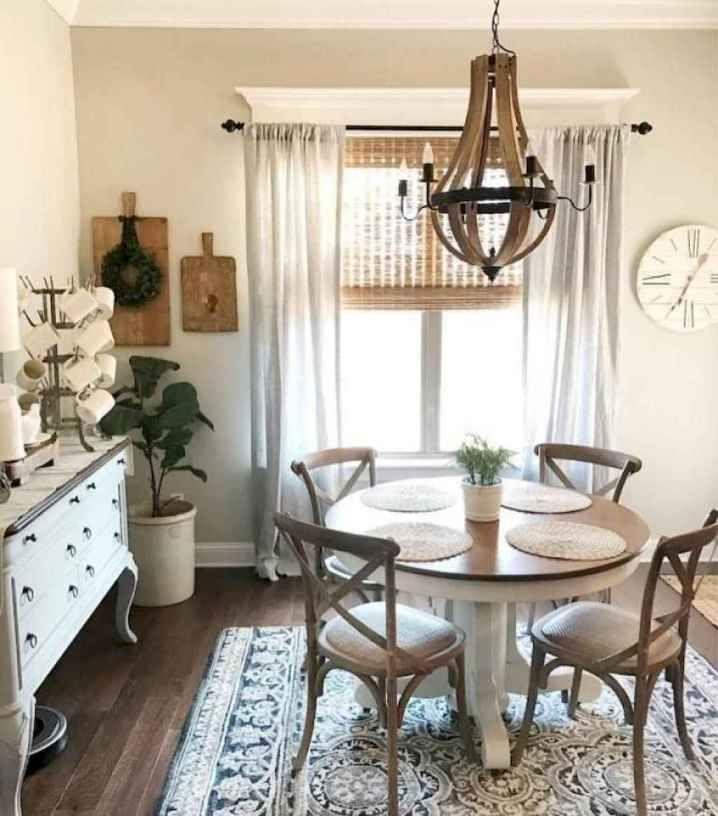 80 Beautiful Farmhouse Dining Room Table Design Ideas Farmhouse