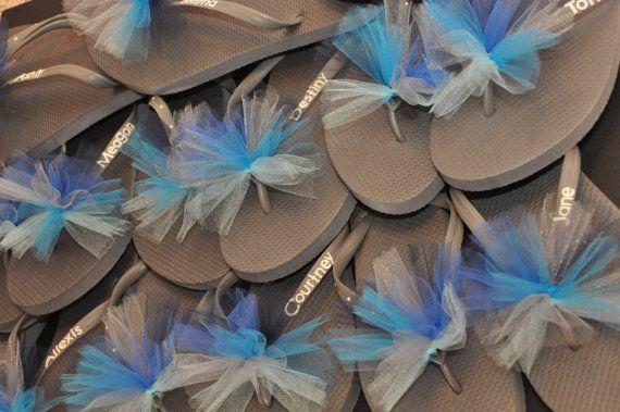 Custom GYMNASTICS Flip Flops TEAM Flip Flops by BrooklynsBowsNToes