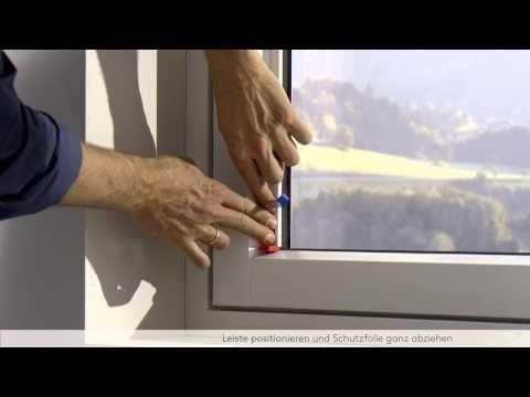 LEHA Plissee und Duette ohne Bohren montieren (Stick & Click Klebetechni...