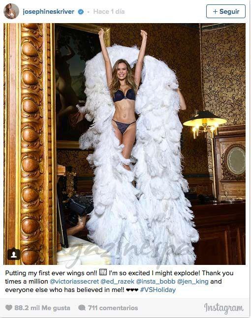 """Josephine Skriver, el nuevo """"ángel"""" de Victoria's Secret"""