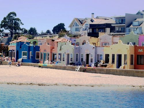 """Capitola, CA is my favorite beach town in the Bay Area. Only an hour's drive from San Francisco, it's a tiny picturesque town that is the perfect ""staycation"" spot"""