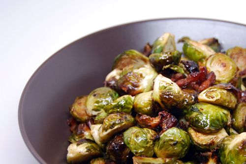 Roasted Brussels Sprouts And Bacon  Award Winning Paleo Recipes Nom