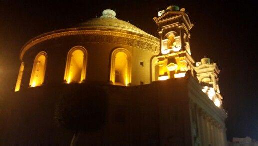 #Malta #MostaDome #NightTour