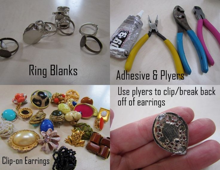 twobutterflies: DIY Accent Rings