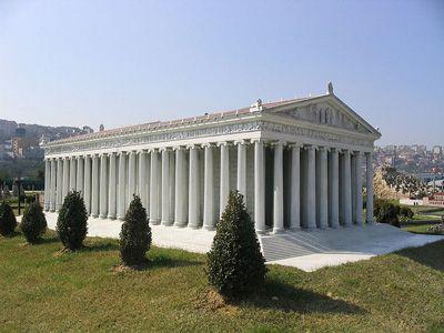 Tempio di Artemide, Efeso, VI sec. Esempio di tempio diptero