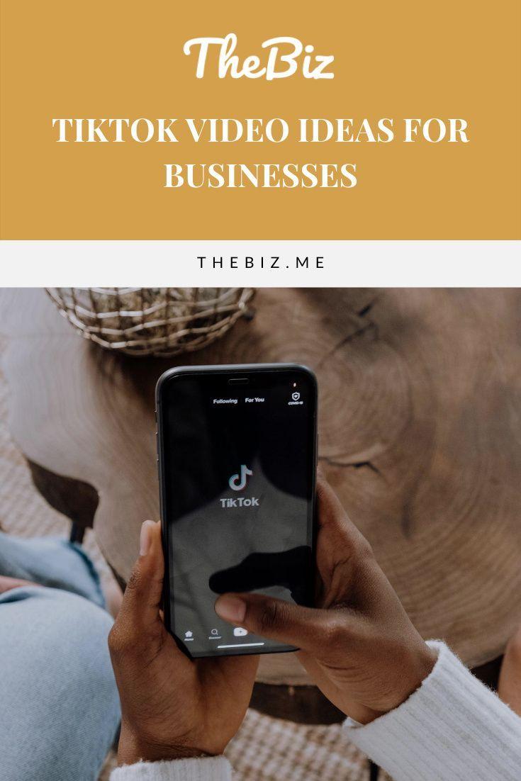 The 6 Best Ideas For Tiktok Videos For Businesses Thebiz In 2021 Social Media Planning Social Media Content Calendar Social Media