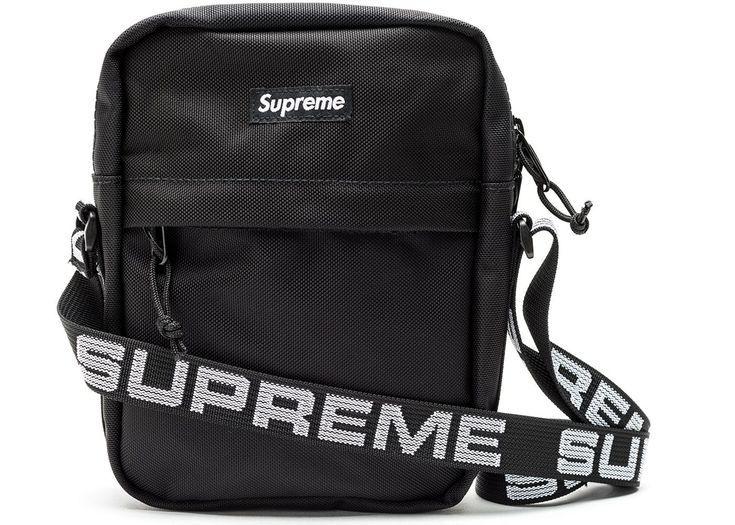 Supreme Umhangetasche Ss18 Schwarz Handtaschen Umhangetasche Manner Umhangetasche Damen Taschen