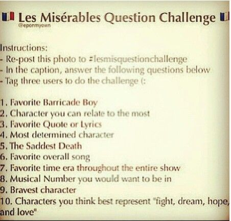 Essay on les miserables