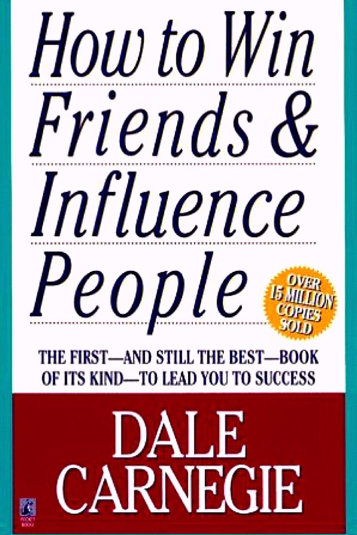 How to win friends and influence people by Dale Carnegie will equip you with some rock-solid advice to improve your people skills and help you to be successful in your business and personal life. -bookerina.com