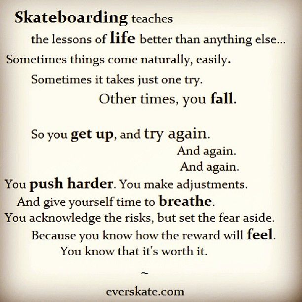 skateboarding sayings, skateboard quotes