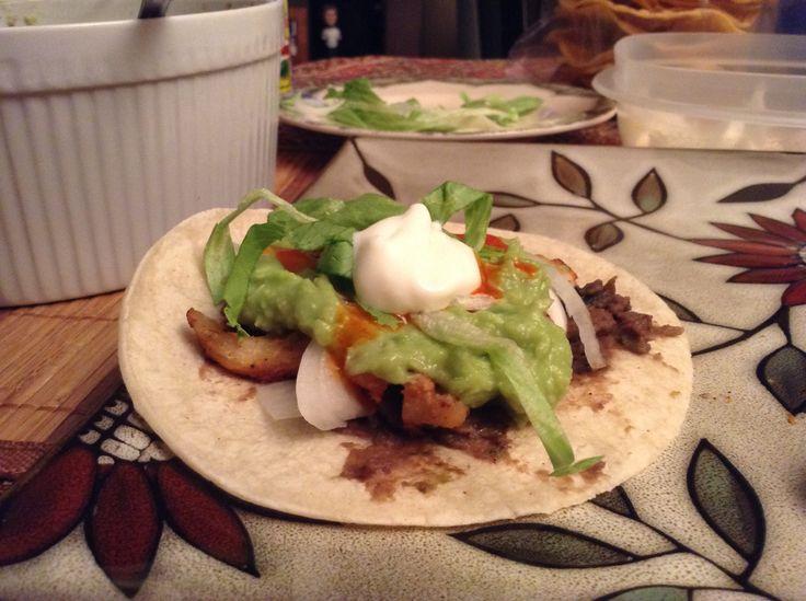 Le Taco homemade <3