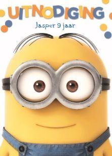 Wie is een echte Minions fan? Dan zit je namelijk met een Minion-feestje helemaal goed! #Hallmark #HallmarkNL #kinderfeest #feestje #feest #jongen #uitnodiging #minion