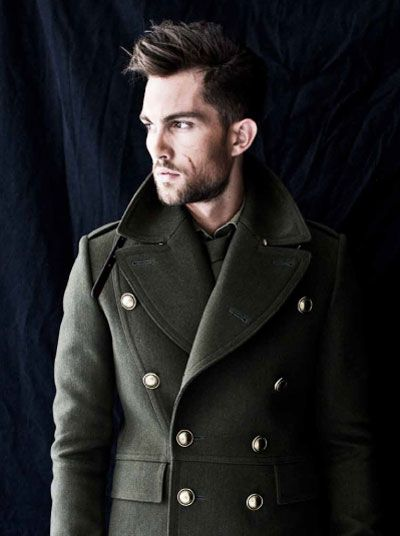 Pleasure magazine takes on this seasons military theme for a shoot featuring top model Tobias Sorense, and of course the focus is on coveted Burberry Prorsum coats from brands Fall Winter 2010.11 collection.