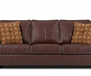 Recliner Sofa Bolivar Leather Queen Sleeper Sofa Only at Macy us Couches u Sofas Furniture
