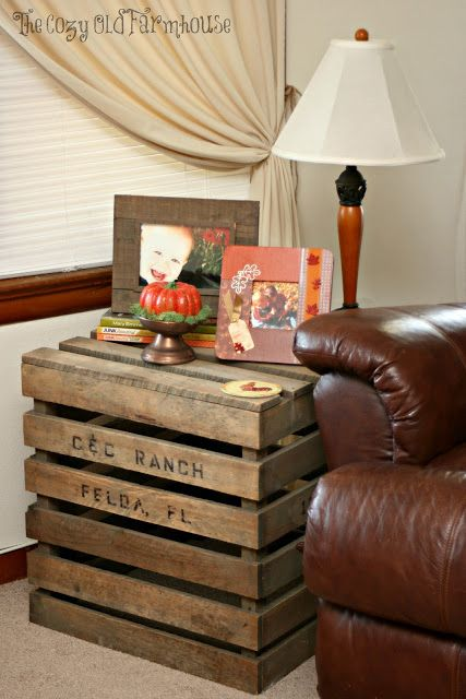 """The Cozy Old """"Farmhouse"""": decorating"""