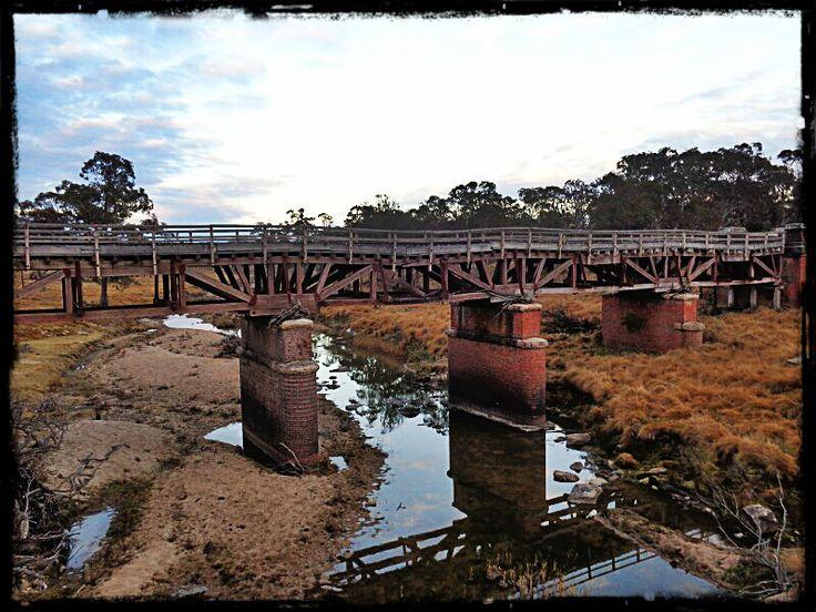 Railway Bridge over Tenterfield Creek