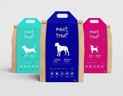 Dog food packaging  http://be.net/gallery/54301011/Dog-food-packaging