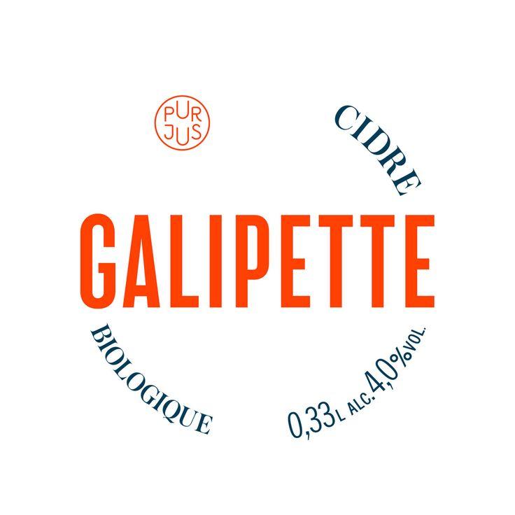 Galipette Cidre by Werklig, Finland. #branding #cider