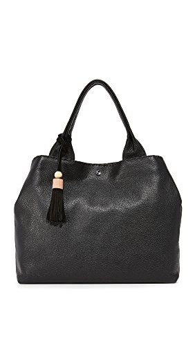 Elizabeth and James Women's Teddy Tote, Black, One Size