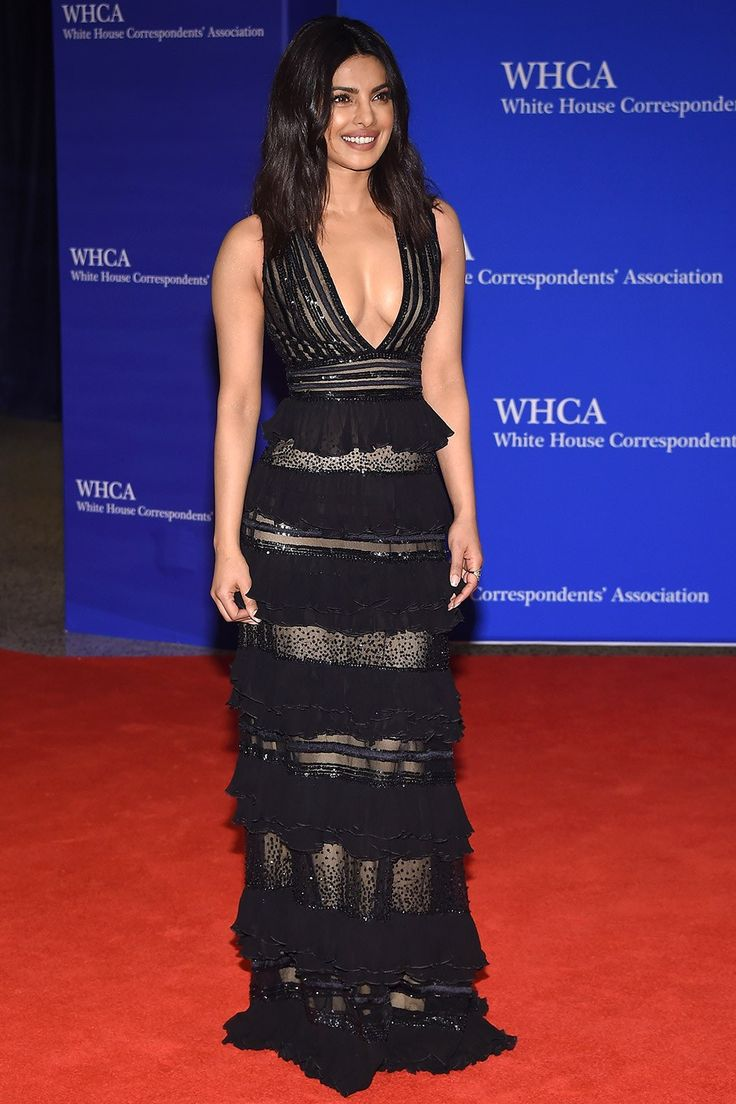Priyanka Chopra in Zuhair Murad, 2016 White House Correspondents Dinner