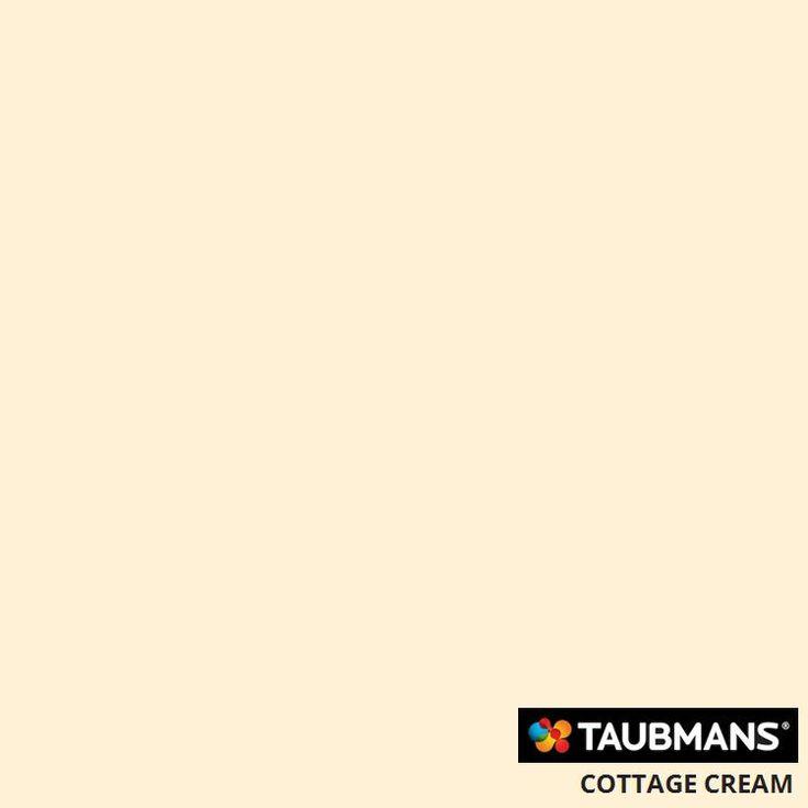 #Taubmanscolour #cottagecream