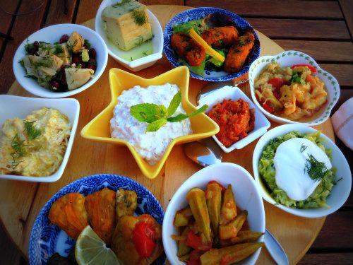 Meze tabağı Bodrum Orfoz restaurant