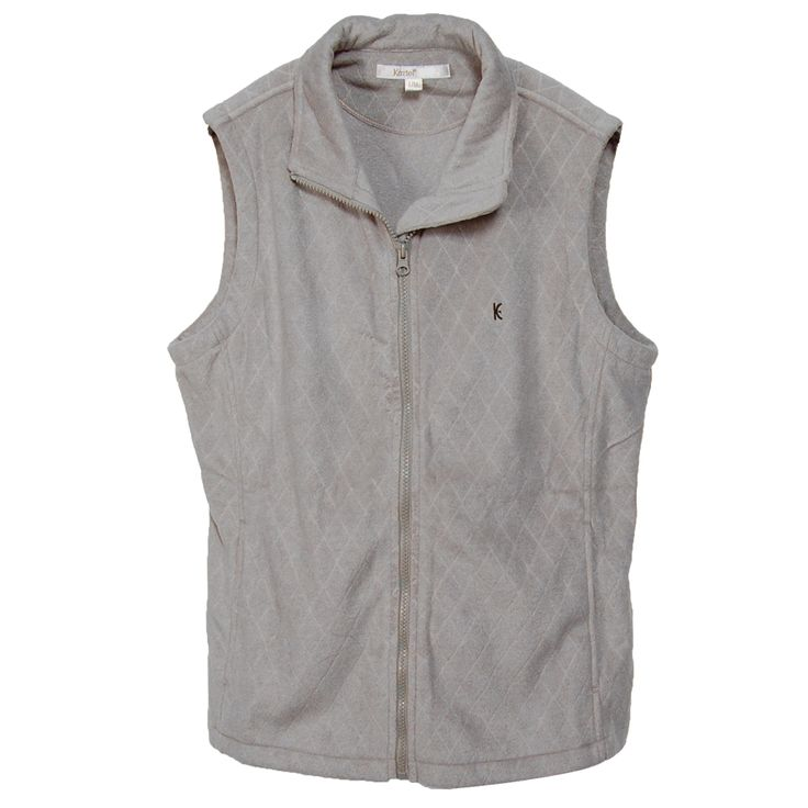 Kew8-09 Ladies sleeveless full zip warmer