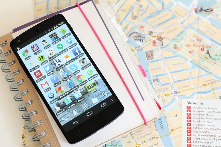 Get your phone ready for travel