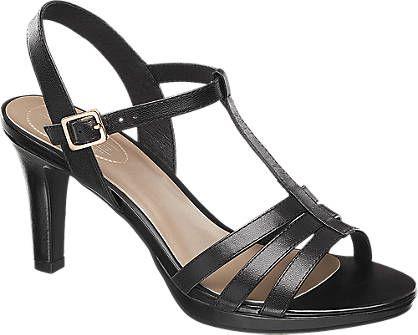 Sandalette von 5th Avenue in schwarz - deichmann.com