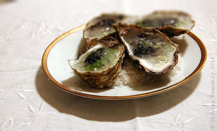 Recette culte du grand Marc Meneau, les «huîtres en gelée d'eau de mer» font désormais partie des classiques de la cuisine française. Voilà une belle entrée pour le réveillon, histoire d'épater un peu la galerie. Un succès garanti et un goût inimitable, iodé, renforcé ici par quelques grains de caviar d'esturgeon blanc Kaviari®. Si…