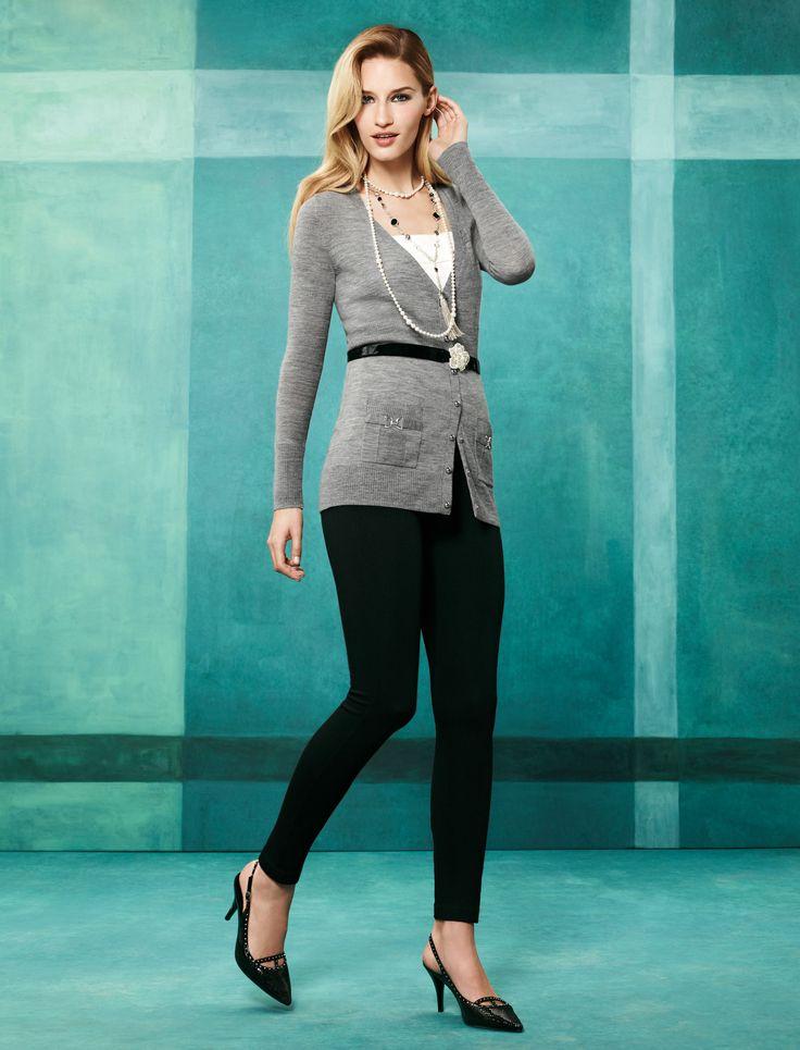 The Instantly Slimming Legging:  Ladies, meet your new best friend!  #instantlyslimming #wearwhatworks #whbm