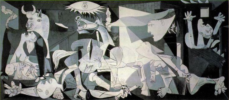 Mallette pédagogique Histoire des arts, cycle 3 - Guernica, 1937 by Pablo Picasso