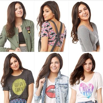 Awesome looks by the one and only  Bethany mota