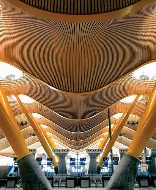 Madrid Barajas Airport: Airports should be this dramatic. Think of all the drama that unfolds there...