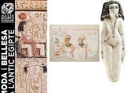 Publicitat de la moda i la bellesa de l'antic Egipte