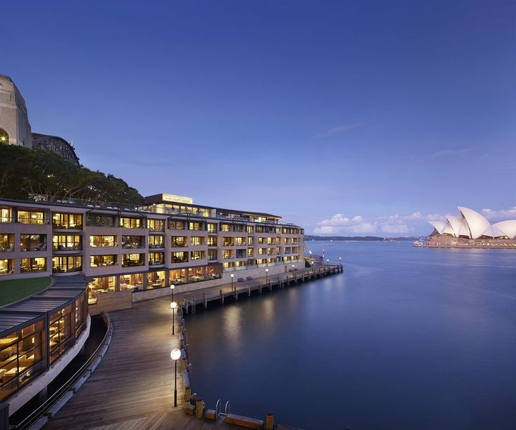 View of Sydney Harbour and the Park Hyatt Hotel. #sydney
