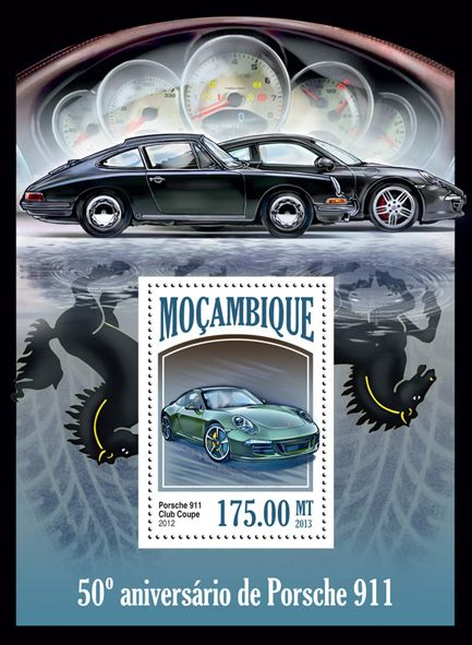 MOZ 13519 b50th Aniversary Porsche 911, (Club Coupe).
