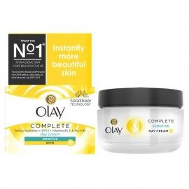 Olay Essentials Complete Care Day Cream SPF 15 - 50ml - For Sensitive Skin