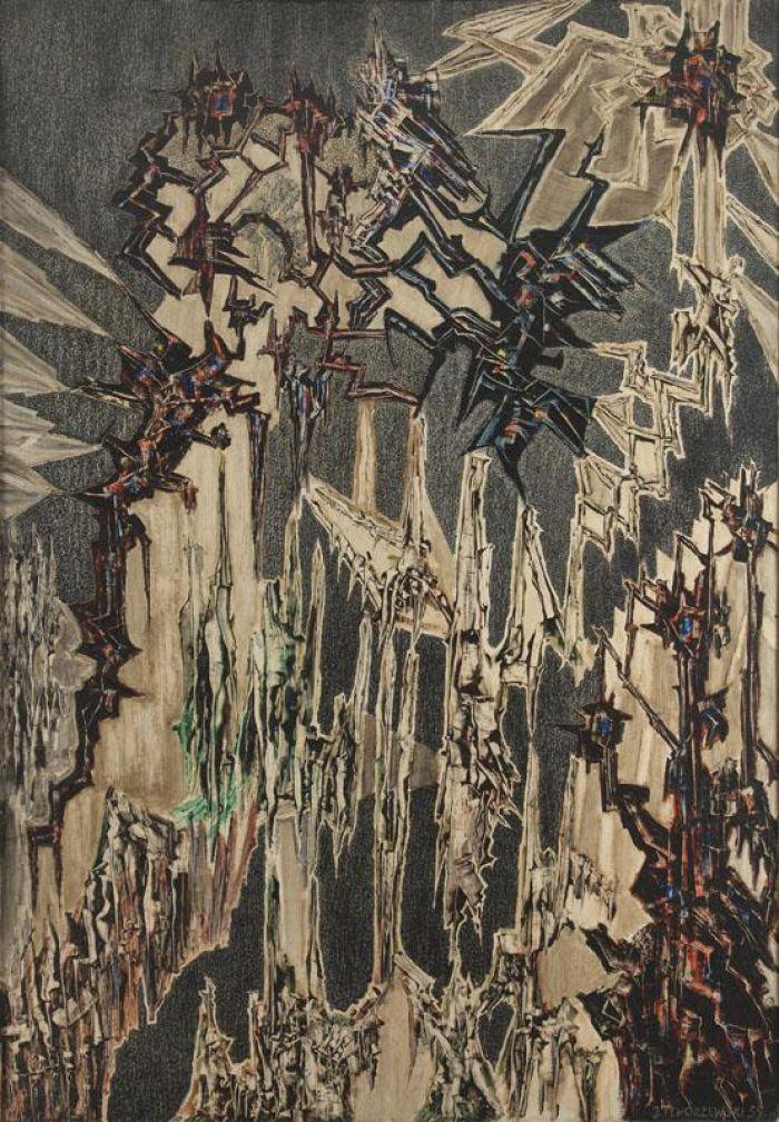 Jerzy Tchórzewski - Obraz 59/24, 1955-59