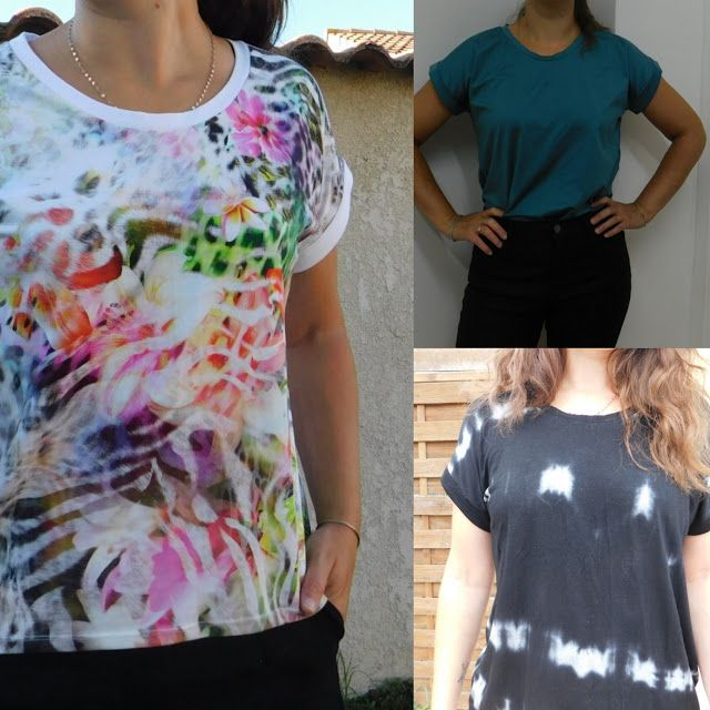 Instant Couture: Tee-shirts Odette puissance 3