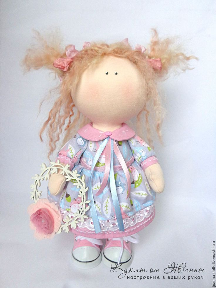 Купить Малышка Мэй - розовый, голубой цвет, серый цвет, пастельный цвет