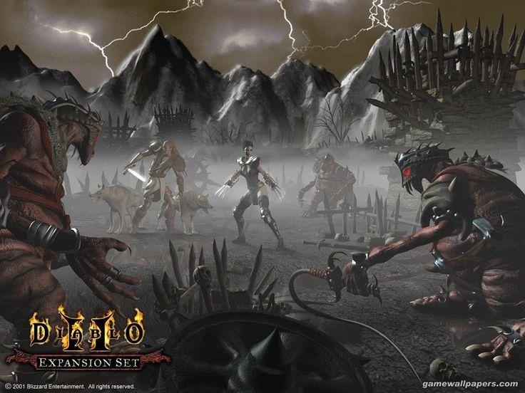 Diablo II Обои для компьютера заставки на рабочий стол